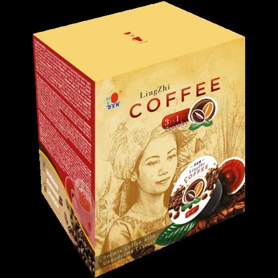 DXN Kapszulás Lingzhi Coffee 3in1 EU